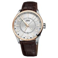Oris Artix 18K玫瑰金 月亮周期機械錶-42mm 0176176916331-0752180FC