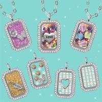 【HEMAKING】潘朵拉月光寶盒閃鑽奢華項鍊(7款/任選)