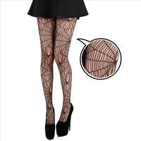 【摩達客】英國進口義大利製Pamela Mann蜘蛛網設計彈性網襪褲襪