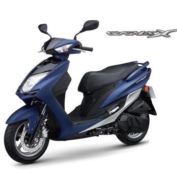 YAMAHA 山葉機車 CygnusX 新勁戰125雙碟-質感風日行燈版 -2017新車