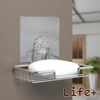 【Life Plus】 環保無痕魔力貼掛勾-肥皂架