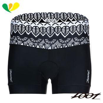 ZOOT 專業級6吋肌能鐵人褲(女)(圖紋黑) Z1706009