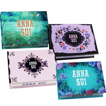 ANNA SUI 安娜蘇 便條本4件組