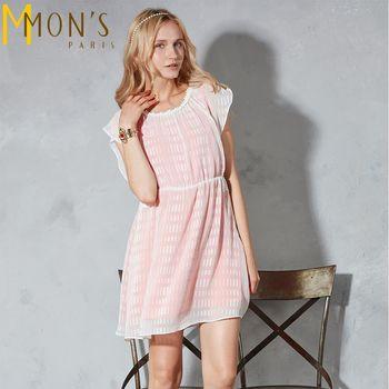 MONS名媛公主系兩件式透紗小洋裝