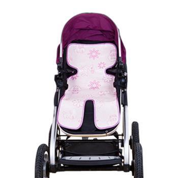 夏季嬰兒推車冰絲推車涼蓆坐墊