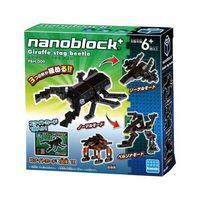 【Nanoblock PLUS 迷你積木】PBH-009 鍬形蟲