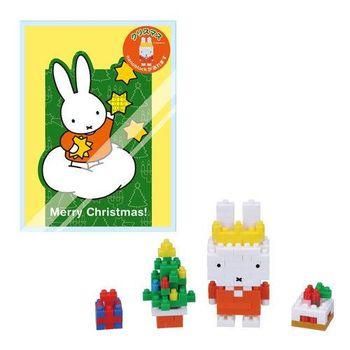 【Nanoblock 迷你積木】米菲兔聖誕樹 NBGC-004