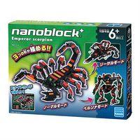 【Nanoblock 迷你積木】PBH-014 大黃蠍子