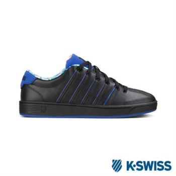 K-swiss Court Pro II SP CMF休閒運動鞋-女-黑/藍/圖騰