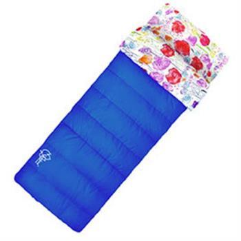 【Outdoorbase】草原藍印花保暖睡袋 24462