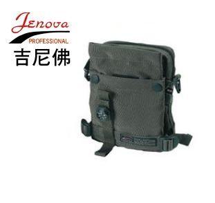JENOVA吉尼佛17001創意袋系列休閒相機包(黑色)~可放小數位相機、護照證件~