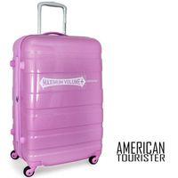 美國旅行者 American Tourister冷色系輕量PC硬殼可加大/25吋行李箱/旅行箱/拉桿箱31T