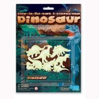 【4M】夜光貼片系列 - 3D立體螢光恐龍貼片 00-05426