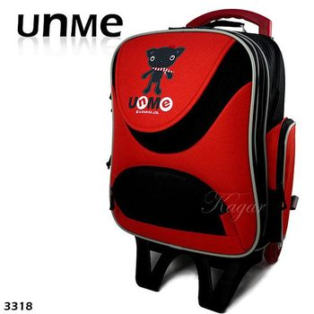 UNME 可拉 可拆 可背 上學 出遊好幫手拉桿書包/學生書包/後背包/兒童書包免運費 3318