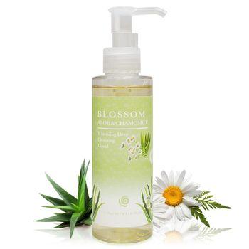 【BLOSSOM】芦荟洋甘菊植萃净白保湿温和深层卸妆露(150ML/瓶)