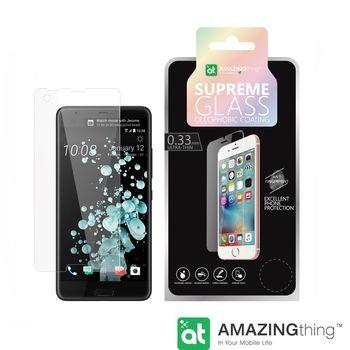 AMAZINGthing HTC U ULTRA 高透光強化玻璃保護貼