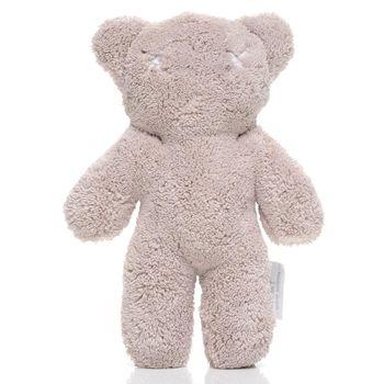 【澳洲BRITT】扁扁熊(小)安撫玩偶/陪伴娃娃-灰色