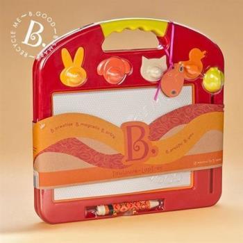【美國 B.Toys 感統玩具】塗黑黑磁繪板