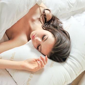 義大利La Belle《經典純色》防蹣抗菌舒眠壓縮枕-一入