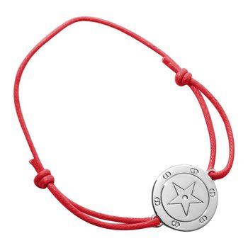 Dior 迪奧 幸運星艷紅簡約風手鍊