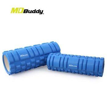 【MDBuddy】按摩滾輪套組-有氧 塑身 健身 按摩滾輪 隨機