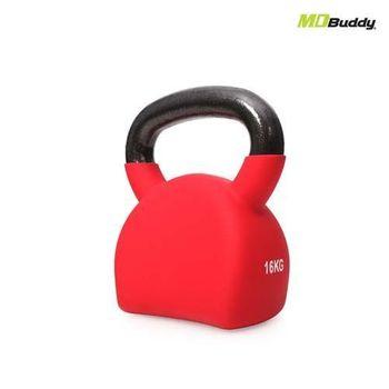 【MDBuddy】16KG造型壺鈴-重訓 16KG 健身 隨機