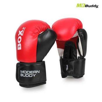 【MDBuddy】10OZ 拳擊手套-10盎司 健身 搏擊 訓練 隨機