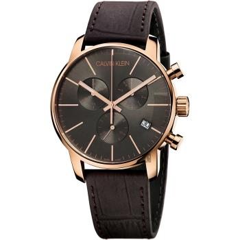 Calvin Klein CK City 都會紳士計時腕錶-43mm K2G276G3