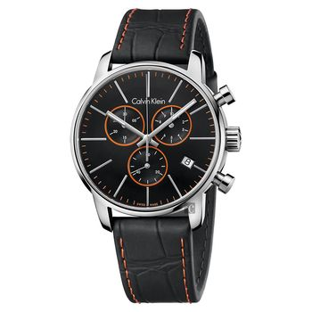 Calvin Klein CK City 都會紳士計時腕錶-43mm K2G271C1