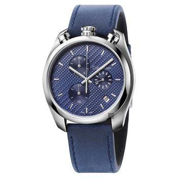 Calvin Klein CK Control 率性質男計時腕錶-45mm K6Z371VN