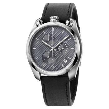 Calvin Klein CK Control 率性質男計時腕錶-45mm K6Z371C4
