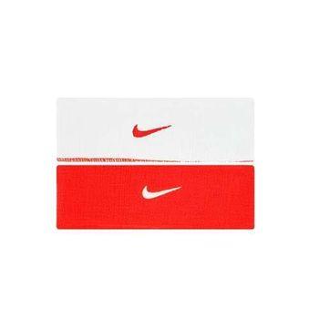 【NIKE】主客場雙面頭帶-慢跑 路跑 籃球 網球 排球 配件 紅白