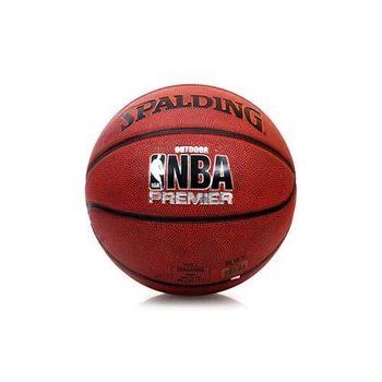 【SPALDING】NBA PREMIER 7號籃球-室外球 斯伯丁 深橘