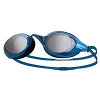 【SABLE】黑貂 競速型塑剛玻璃鏡片泳鏡-清晰防霧防雜光強光 藍
