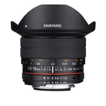 SAMYANG 12mm F2.8 ED AS NCS Fish-eye FOR Canon魚眼鏡頭 (公司貨)