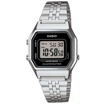 【CASIO】 經典復古數字型電子錶-黑面 (LA-680WA-1)