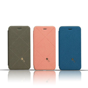 fnte iPhone 6 Plus 輕薄菱格皮套