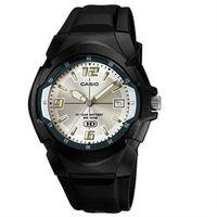 【CASIO】 新版超時玩家十年電量指針錶-白面 (MW-600F-7A)