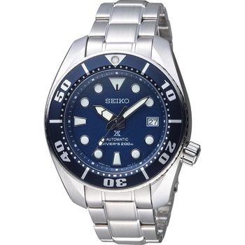 SEIKO 精工 6R15 自動機械 專業潛水錶 6R15-00G0A 藍色 SBDC033J1