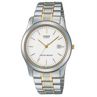 【CASIO】 世界富豪時尚指針紳士錶-羅馬白面 (MTP-1141G-7A)