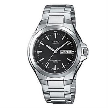 【CASIO】 經典復古型指針紳士錶-羅馬黑面 (MTP-1228D-1A)
