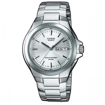 【CASIO】 經典復古型指針紳士錶-羅馬白面 (MTP-1228D-7A)