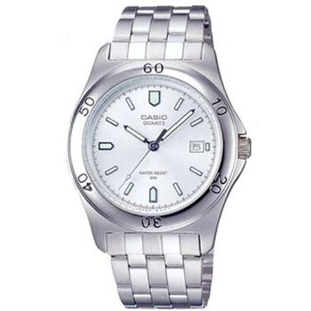 【CASIO】 世界城市新風範指針錶-白面 (MTP-1213A-7A)