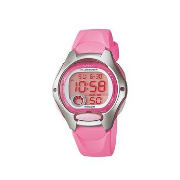 【CASIO】 超時空玩家電子錶-粉紅 (LW-200-4B)