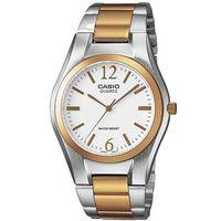 【CASIO】 富豪金銀時尚指針紳士錶-白面 (MTP-1253SG-7A)