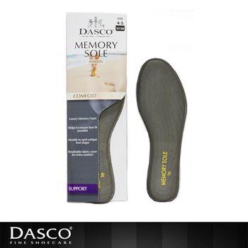 【鞋之潔】英國伯爵DASCO 6002記憶海綿鞋墊 貼合腳型.質料透氣