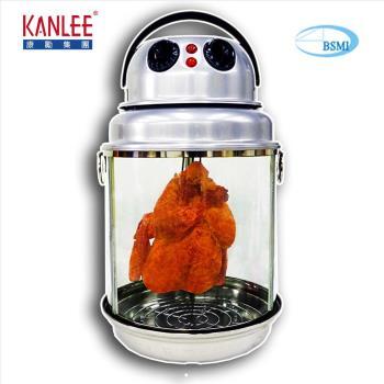 【康勵Kanlee】不鏽鋼多功能烤雞爐KL-B-260L(桶仔雞)