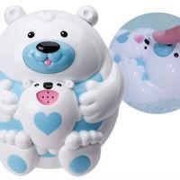 【美國ALEX】漂浮噴泉親子北極熊