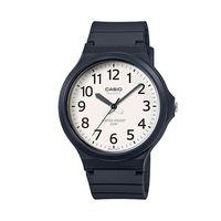 【CASIO】 超輕薄感實用必備大表面指針錶-數字白面 (MW-240-7B)