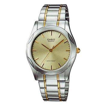 【CASIO】 時尚輝煌指針紳士錶-金面 (MTP-1275SG-9A)